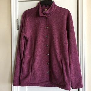 CABELA'S Women's  Fleece Heather Snap Front Jacket